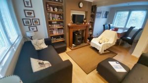 Family room of Cuilidh, kintyre Holiday Home Self-Catering Scotland