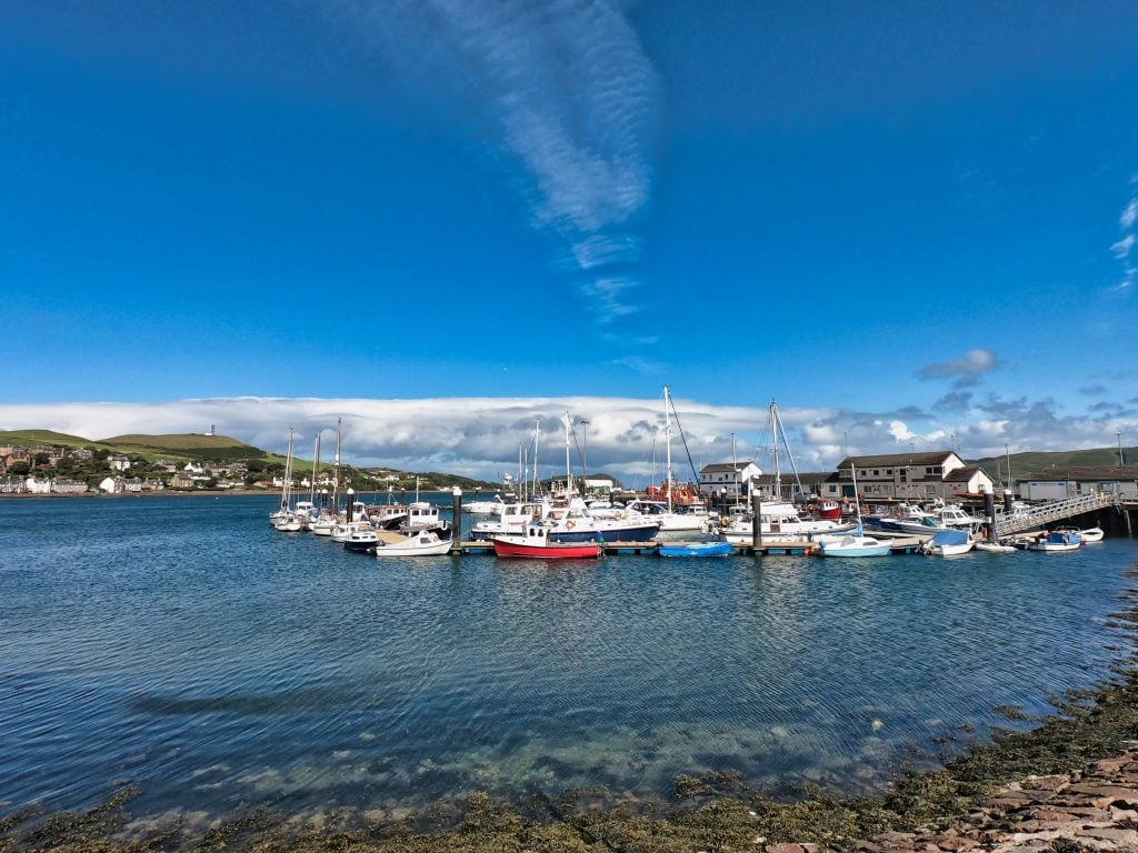 Photograph of Campbeltown Harbour, Kintyre