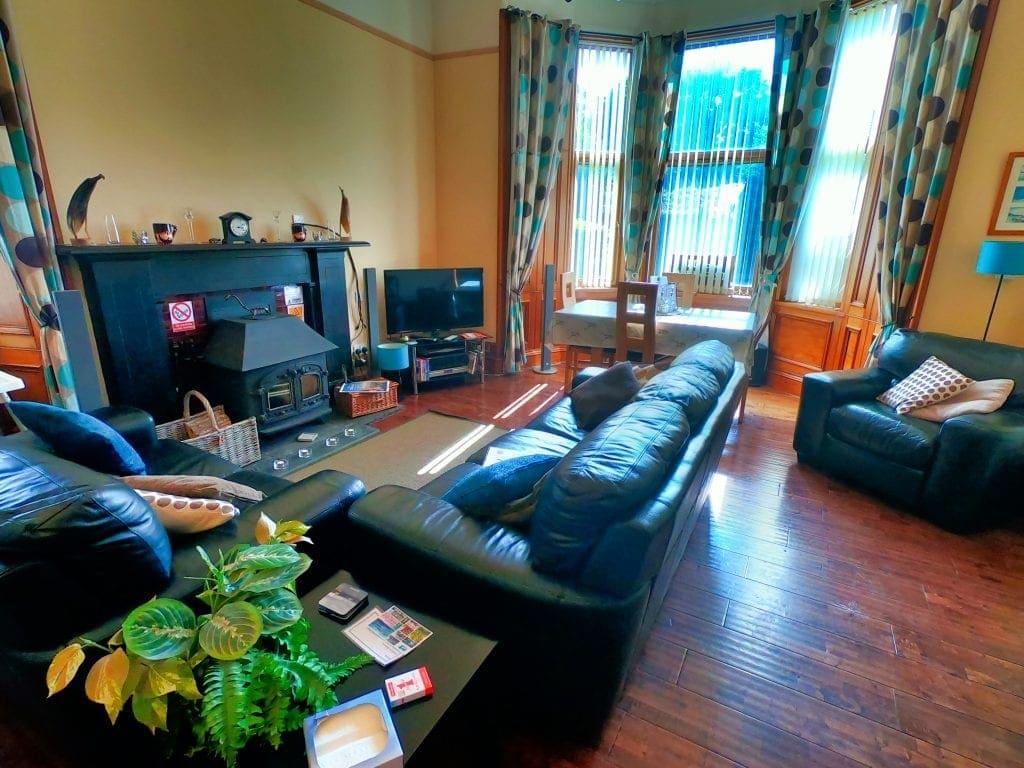 Photograph of Gowanlea B&B guest lounge
