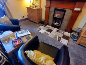 Arran Suite Double decorative fireplace