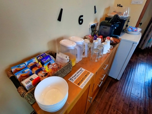 Continental breakfast options