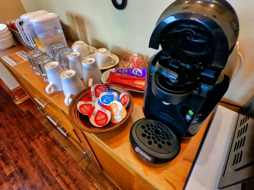 Tassimo coffee maker in Gowanlea B&B