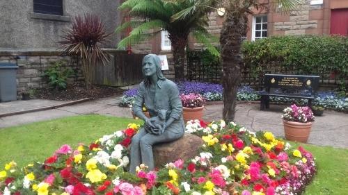 The Linda McCartney memorial - Campbeltown Museum