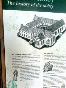 Ruins of Saddell Abbey - Information on the Abbey