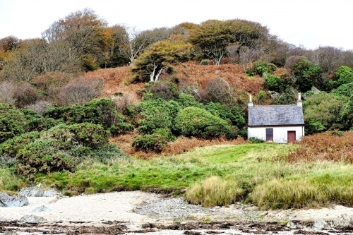 The Bothy at Saddell Bay, used in Paul McCartney's Mull Of Kintyre video