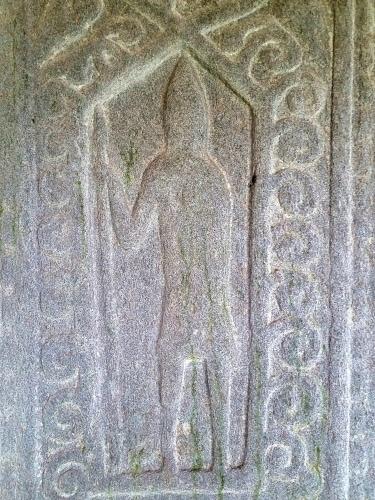 Ruins of Saddell Abbey - A Kintyre School Grave Slab
