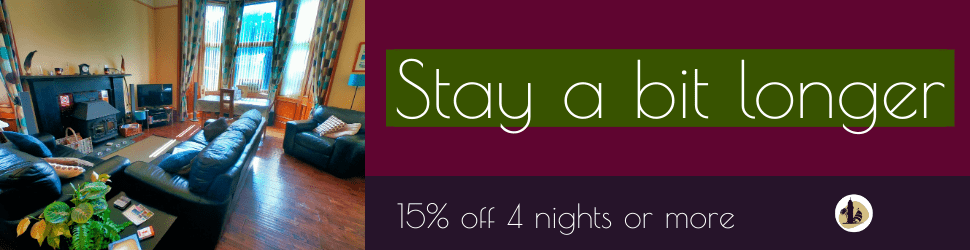 Stay Longer at Stay In Kintyre banner