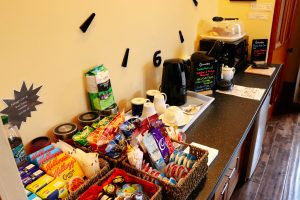 Beverages, snacks and grazing
