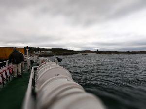 Approaching Gigha Ferry Landing