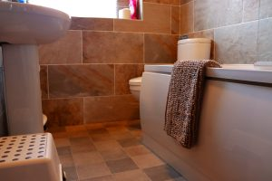 Bathroom at Cuilidh, Kintyre Holiday Home self-catering Scotland