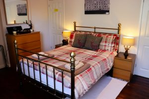 First Floor Double bedroom Cuilidh, Kintyre Holiday Home self-catering Scotland
