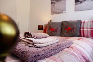 Ground floor double bedroom Cuilidh, Kintyre Holiday Home self-catering Scotland